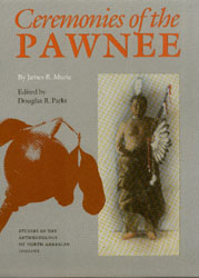 Ceremonies of the Pawnee book cover